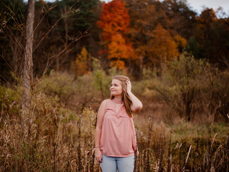 Spring | A Central PA Fall Senior Session