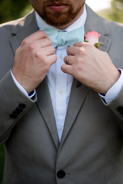 getting ready, groom's attire, bowtie