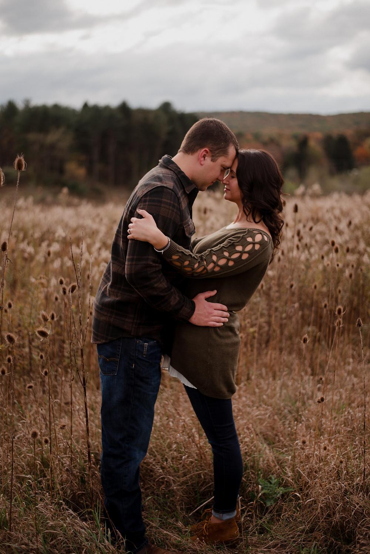 Raystown Lake Region Huntingdon PA fall engagement session