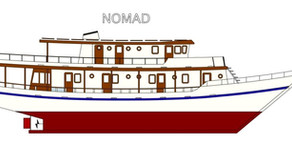 The Nomad, traditional boat for an innovative concept