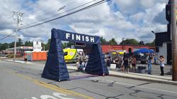 Dracut 5k Walk/Run Finish Line
