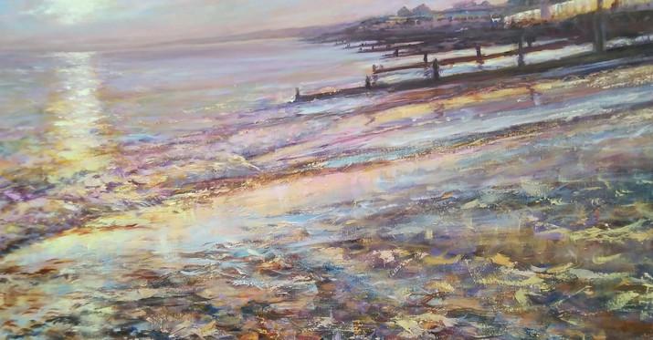 Milford On Sea Sunset.