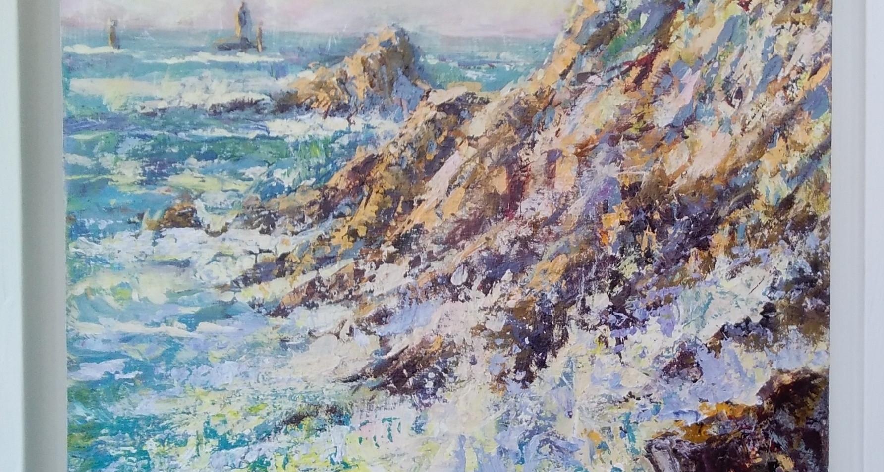 Rocky Cornish Coastline