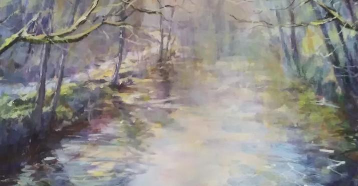 Spring Walk River Exe.