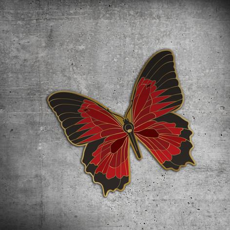 Butterfly Enamel Pin