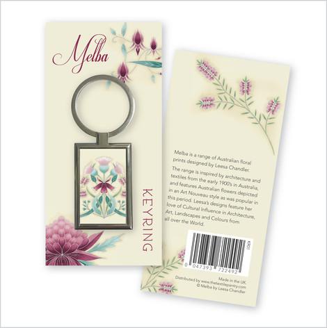 Melba Key Ring