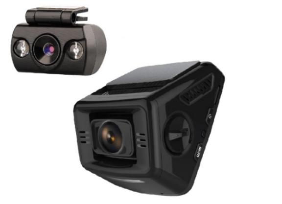 מצלמת וידאו לרכב דו כיוונית (DVR-650D)