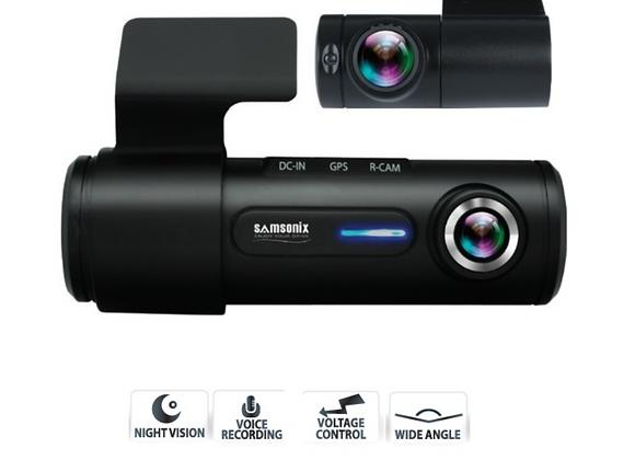 מצלמת דרך דו-כיוונית המצלמת גם כשהרכב כבוי (R910)