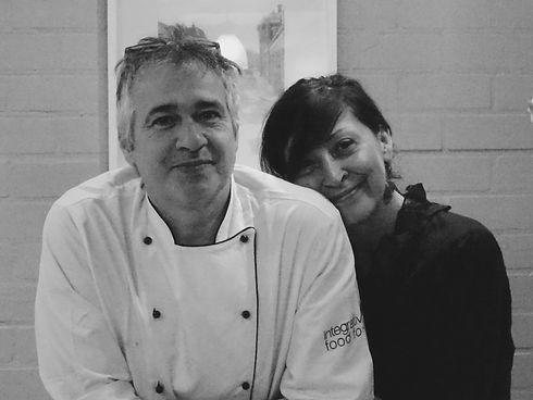 Chef Maurizio Morbidelli e Jenny Romero - saporidicasa.co
