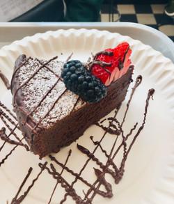 Vegan homemade cake