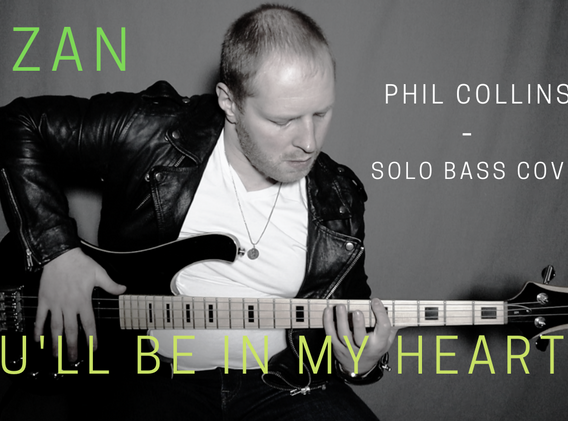 You'll Be in My Heart - Solo Bass Cover