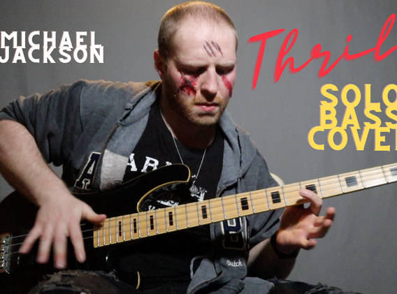 """""""Thriller"""" - Michael Jackson (Solo Bass Cover)"""
