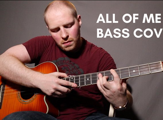 """""""All I Ask of You"""" - John Legend (Solo Bass Cover)"""