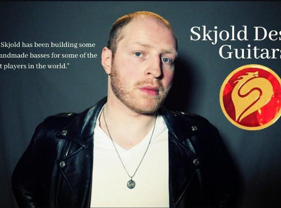 Endorsed to Skjold Design Guitars!