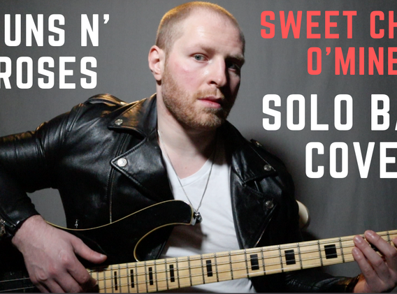 """Sweet Child O'Mine"" - Guns N' Roses (Solo Bass Cover)"