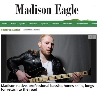 Madison Eagle: Front-Page Feature