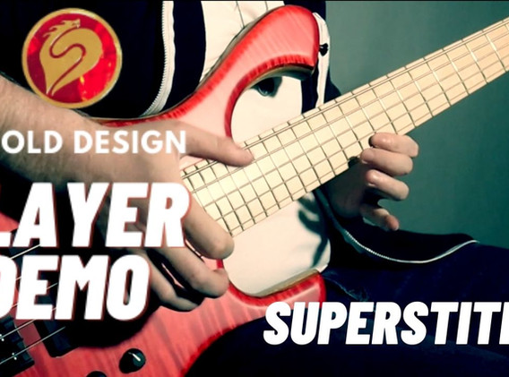 Superstition - Stevie Wonder (Skjold Bass Demo)