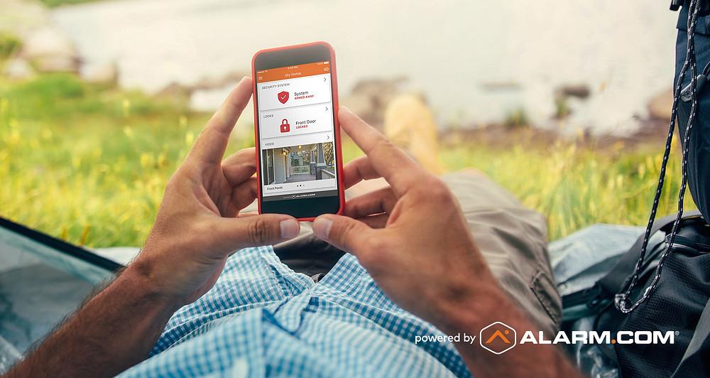 Smart Home Security Alarm.com
