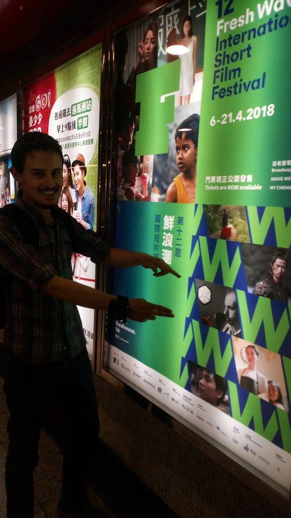 Daniel Reascos, Graduado de INCINE, Codirige Cortometraje en Hong Kong