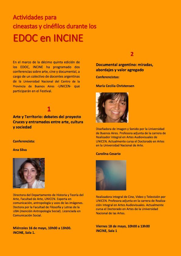Invitación a Ciclo de Conferencias - EDOC