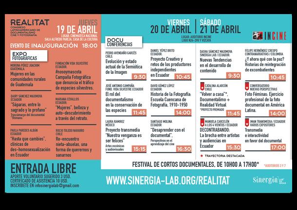 REALITAT: Congreso Latinomaricano de Documentalismo