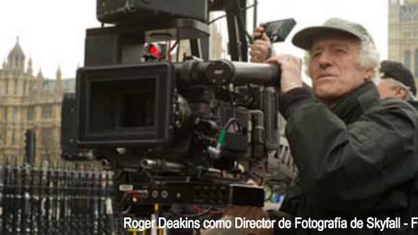 La impresionante trayectoria de Roger Deakins