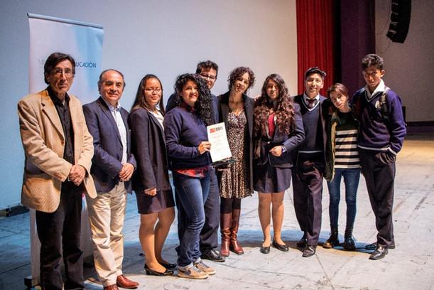 Divergente: Concurso Intercolegial de Cine  concluye con emocionante premiación