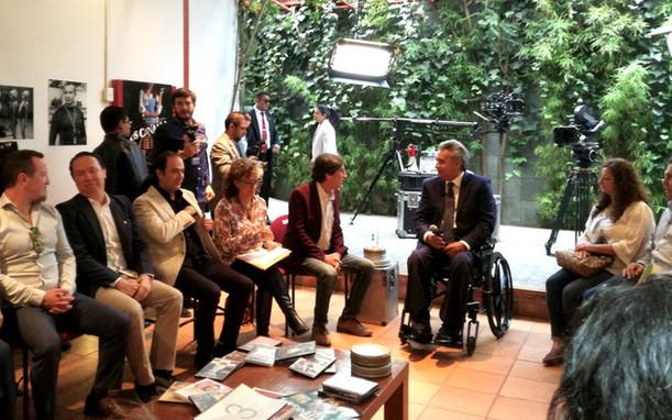 El Presidente Lenin Moreno y el sector del Cine y el Audiovisual Ecuatoriano