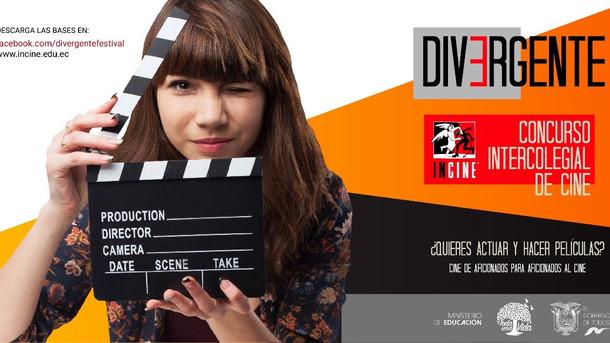 INCINE abre inscripciones para Divergente, concurso intercolegial de cine