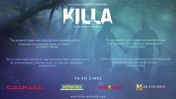 Proyección de Killa, largometraje de Alberto Muenala en INCINE