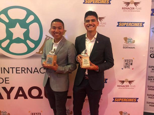 Humano ganador de dos premios en el Festival Internacional de Cine de Guayaquil
