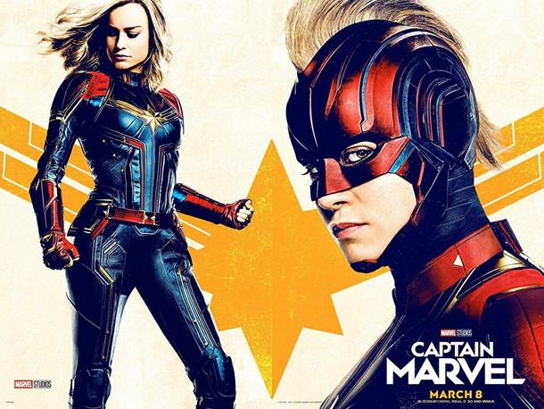 La mujer más poderosa no es perfecta.  Captain Marvel: un nuevo concepto de superhéroe.