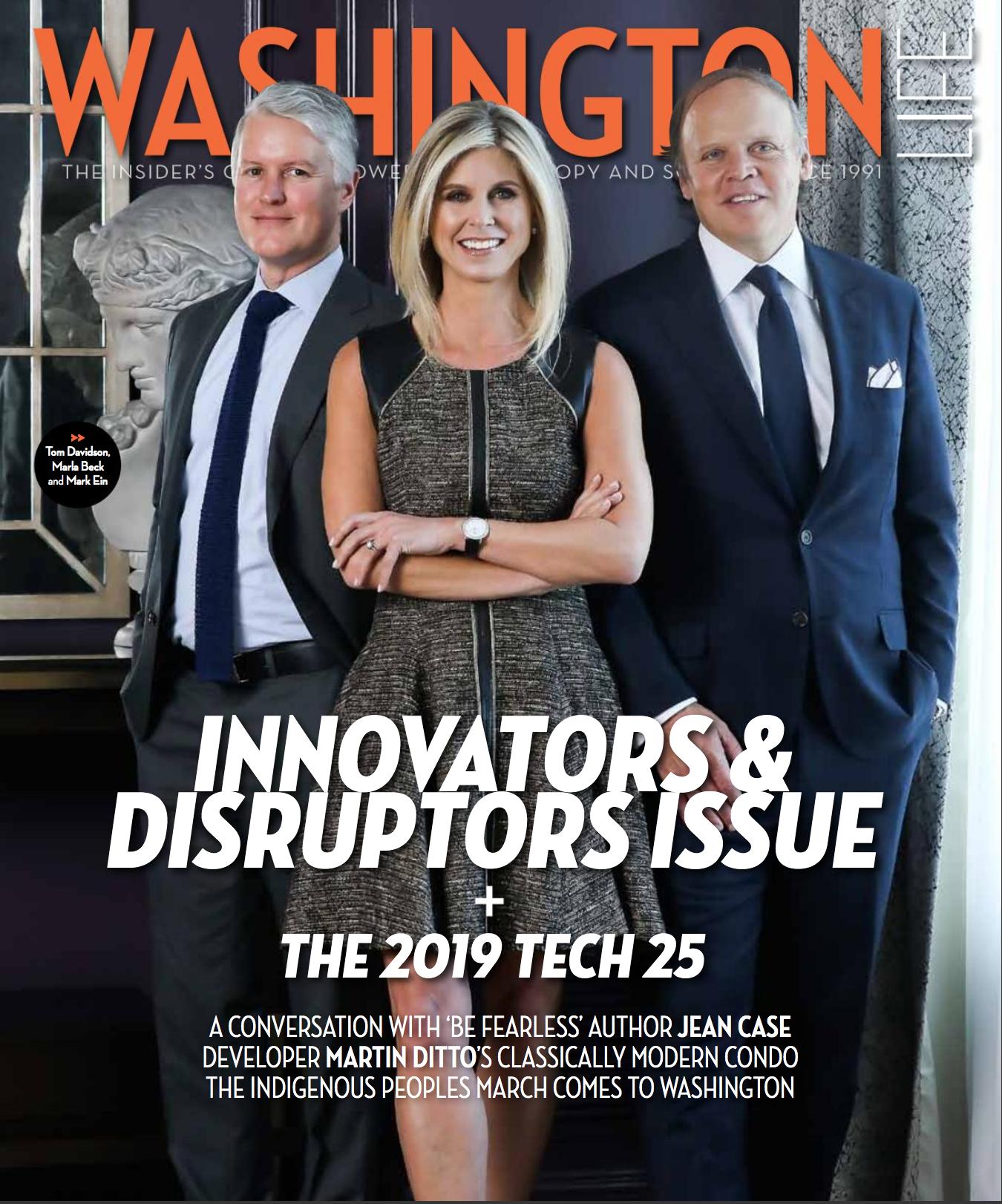 Innovators & Disruptors 2019