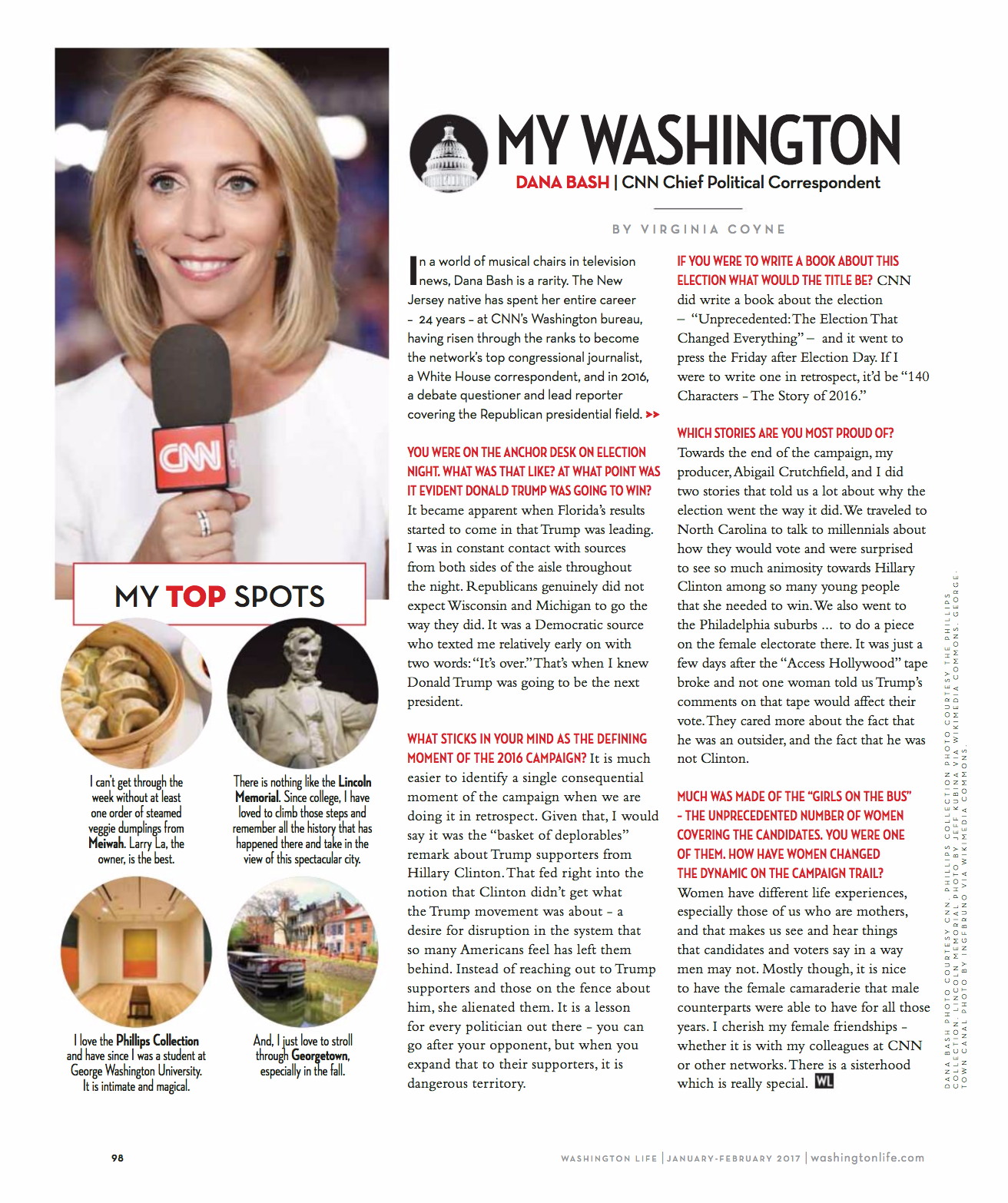 My Washington: Dana Bash