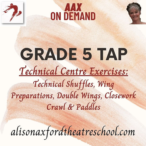 Grade 5 Tap - 2 - Technical Exercises Video