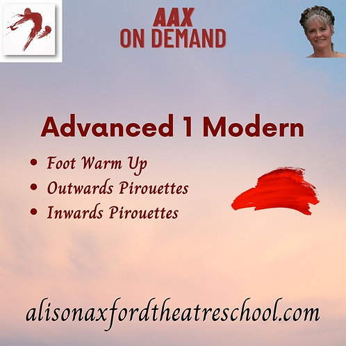 Advanced 1 Modern - 5th Video