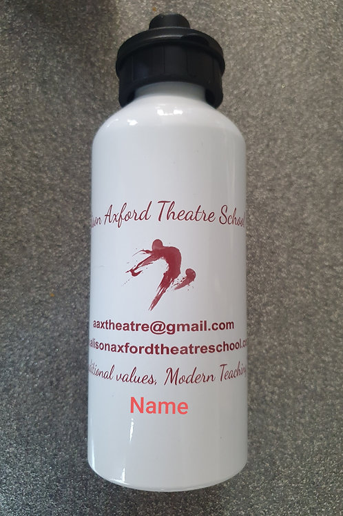 Personalised AAX School Drinks Bottle - see below for 'Name' instructions