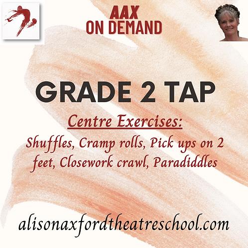 Grade 2 Tap - 2 - Centre Exercises Video