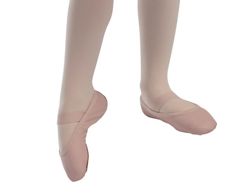 Leather Ballet Shoes - Pink