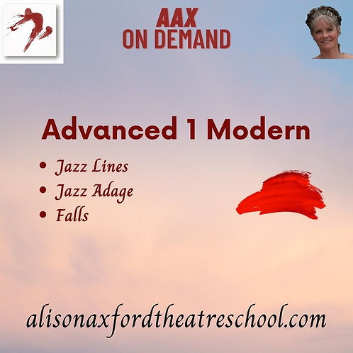 Advanced 1 Modern - 3rd Video