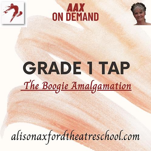 Grade 1 Tap - 4 - Boogie Amalgamation Video