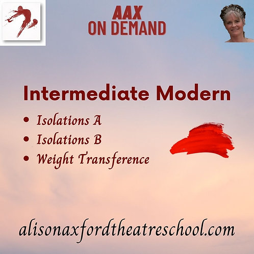 Intermediate Modern - 5th Video