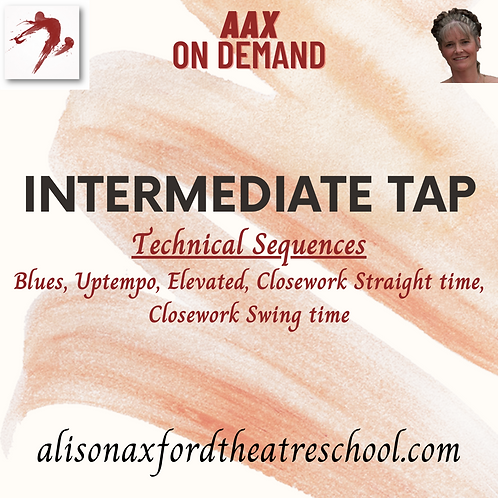 Intermediate Tap - 4 - Technical Sequences Video