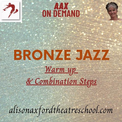 Bronze Jazz Award - 1 - Warm up and Combination Steps