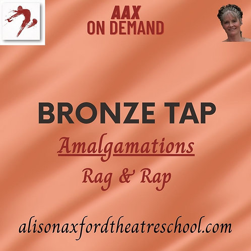 Bronze Tap Award - 2 - Amalgamations Rag & Rap