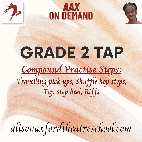 Grade 2 Tap - 3 - Compound Practise steps Video