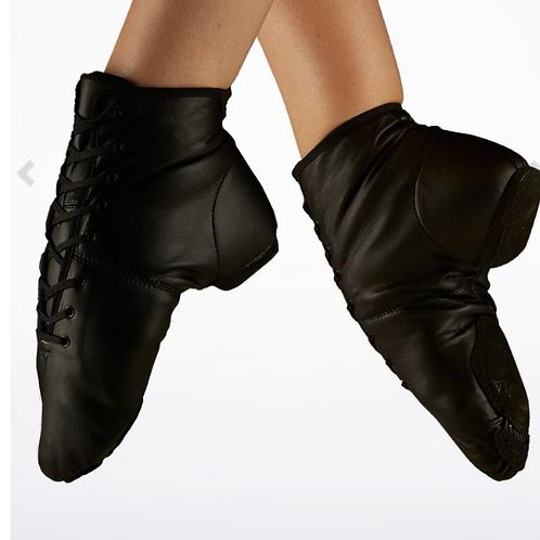 Split sole Jazz Boot -Black