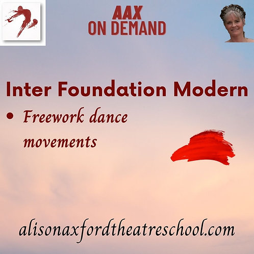 Inter Foundation Modern - 10th Video Freework Vocab