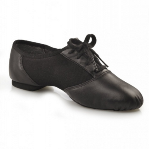 Capezio elastic split sole Leather Jazz Shoe