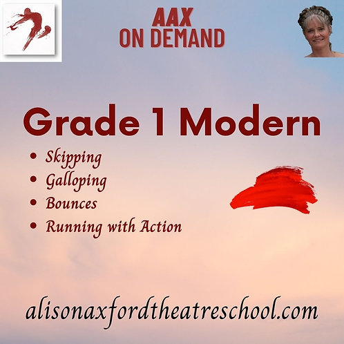 Grade 1 Modern - 4th Video